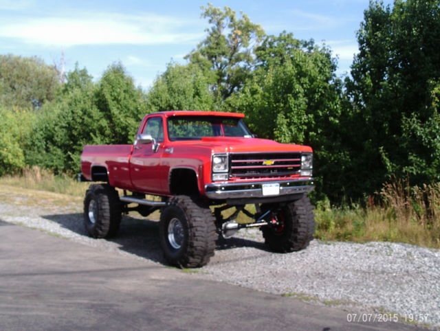 1979 chevy silverado k 30 1 ton 4x4 monster truck for sale photos technical specifications. Black Bedroom Furniture Sets. Home Design Ideas