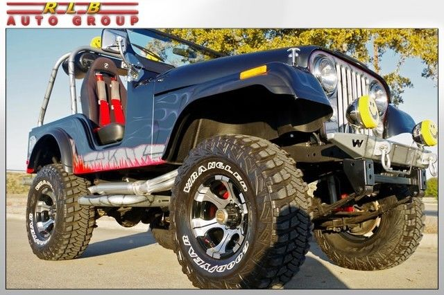 1979 Jeep CJ 5 4x4 Custom Lifted Show Car
