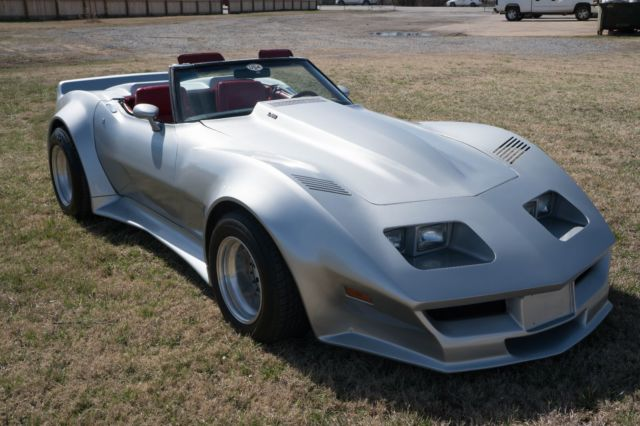 Used Cars For Sale In Oklahoma >> 1979 Corvette Custom C3 Widebody Convertible Roadster V8 Not C5 C6 for sale: photos, technical ...