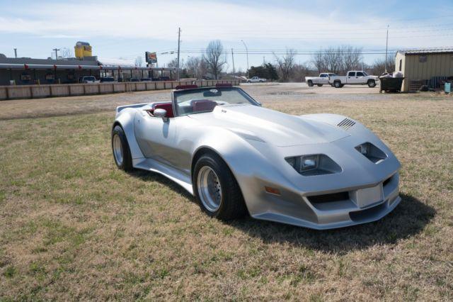 1979 Corvette Custom C3 Widebody Convertible Roadster V8