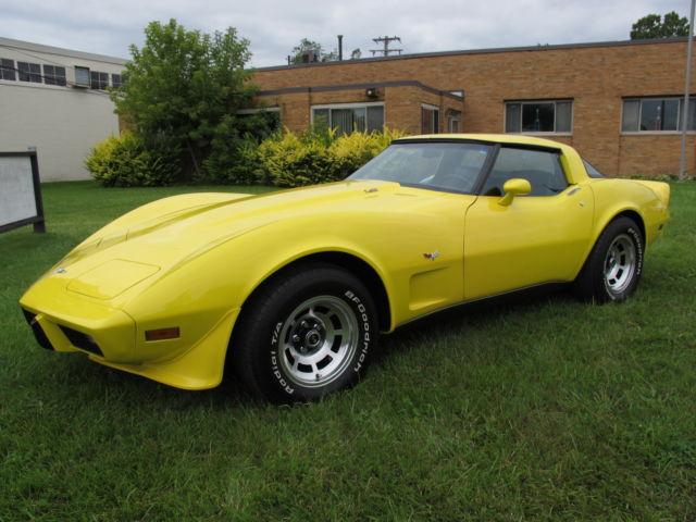 Worksheet. 1979 Corvette L82 4 Speed 45K miles YellowBlack Outstanding