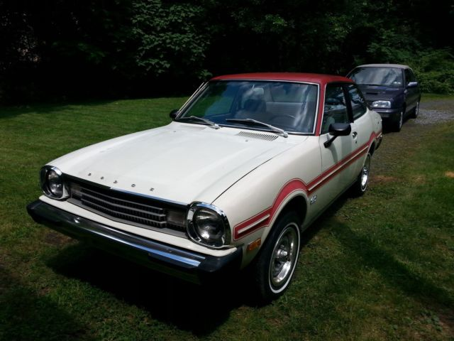 1979 Dodge Colt red and white special edition