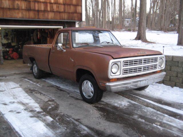 1979 dodge d 100 custom 100 pick up truck 8 foot fleetside for sale 1979 dodge d 100 custom 100 pick up truck 8 foot fleetside publicscrutiny Images