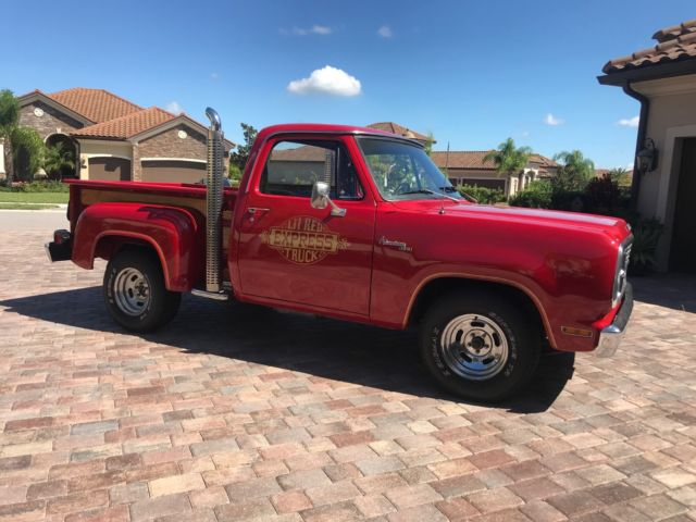1979 Dodge Other Pickups Lil' Red Express