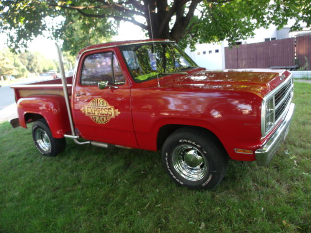 1979 Dodge Other Pickups Little Red Express