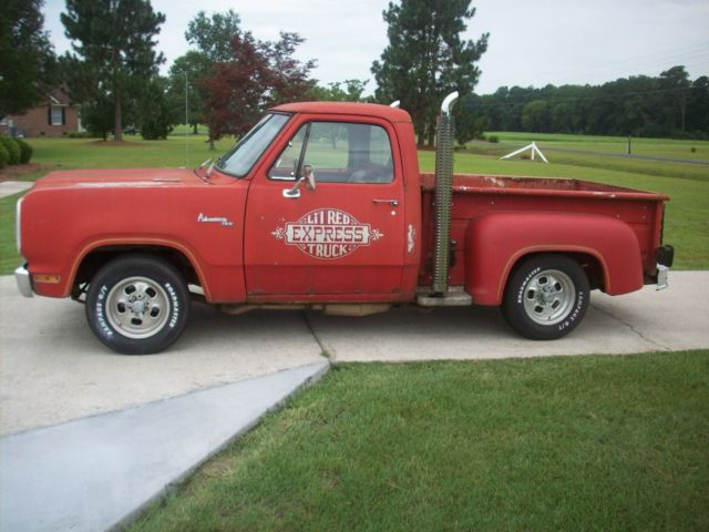 1979 Dodge Little Red Express With Extra Parts Truck For