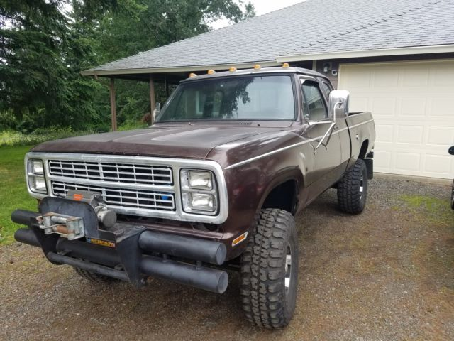 1979 dodge power wagon for sale photos technical specifications. Cars Review. Best American Auto & Cars Review