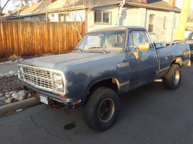 1979 Dodge Power Wagon d150