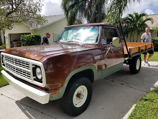 1979 Brown Dodge Power Wagon W150 Cab & Chassis with Beige interior