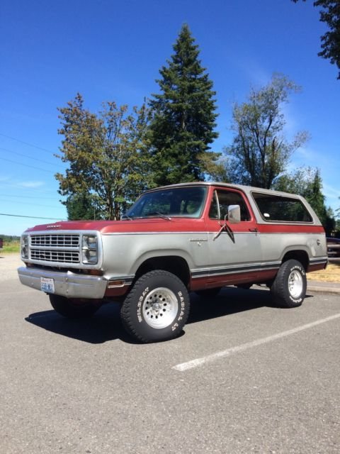 1979 Dodge Ramcharger SE