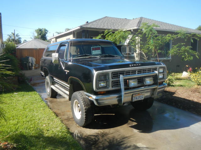 1979 Dodge Ramcharger