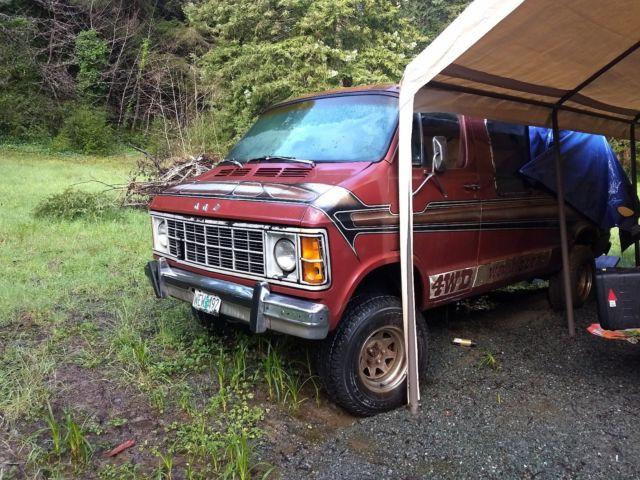 4X4 Van For Sale >> 1979 Dodge Wrangler 4x4 Van For Sale Photos Technical