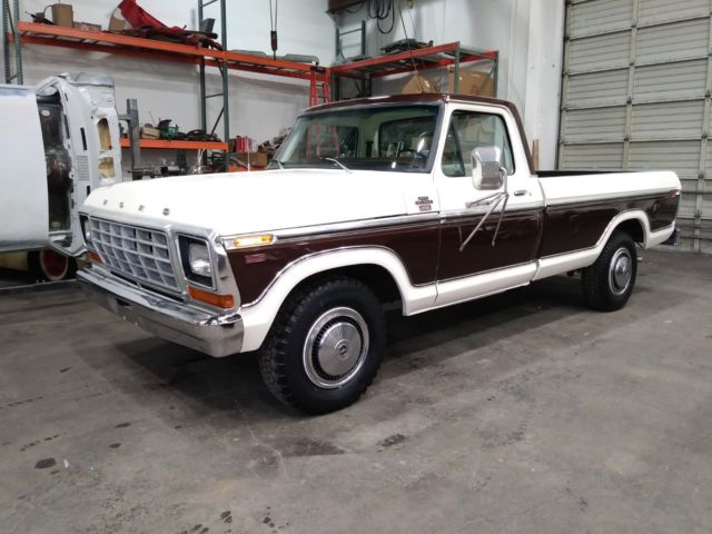 1979 Ford F-250 Ranger XLT with New Lariat Interior Upholstery