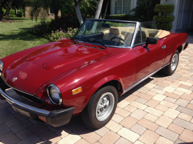 1979 Fiat Other Spider 2-door convertible