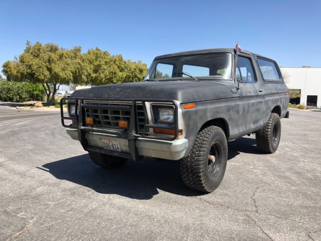 1979 Ford Bronco 4x4