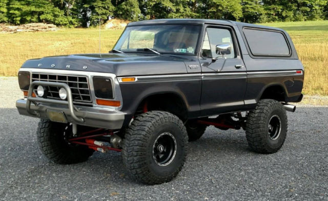 1979 Ford Bronco Performance 39 FE Engine 4 Speed Borg Warner Posi Lifted