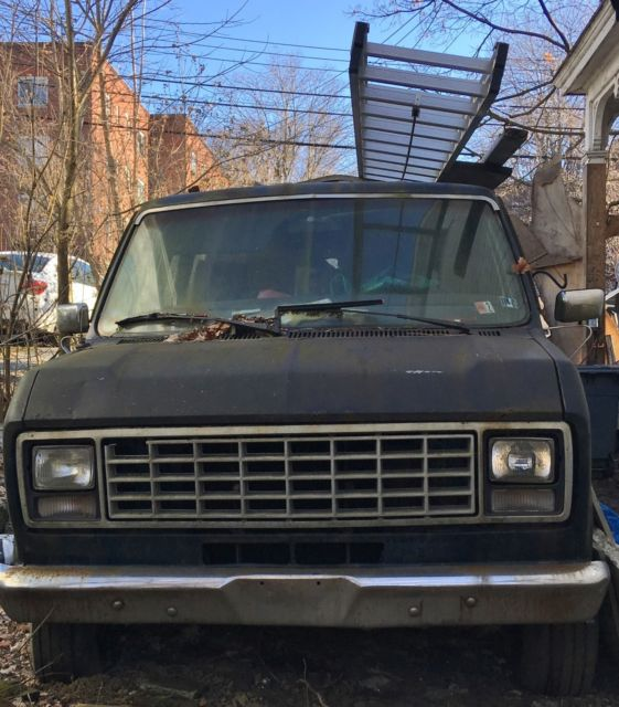 1979 Ford E-Series Van Cargo