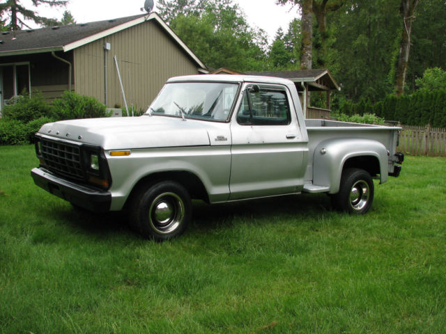 1979 Ford F-100 Rare Shortbed Stepside
