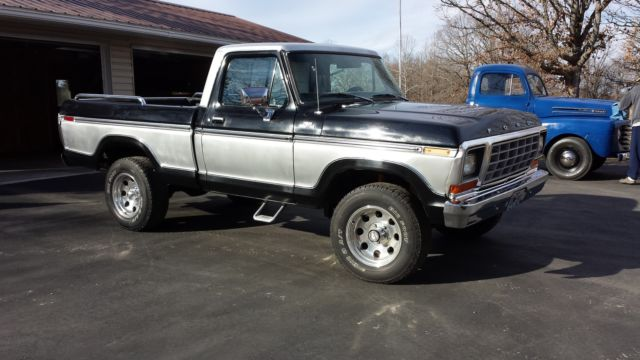 1979 Ford F-150 Custom Cab & Chassis 2-Door