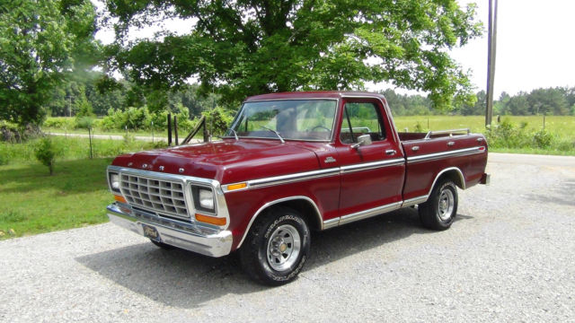 1979 Ford F100 Truck Ranger Swb Ps  Pb  Air Solid Truck For Sale  Photos  Technical Specifications