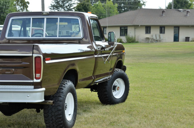 Ford F250 8 Foot Bed For Sale >> 1979 FORD F250 4X4 6CYL 4SPD DANA 60 FRONT AND REAR AXLES ...