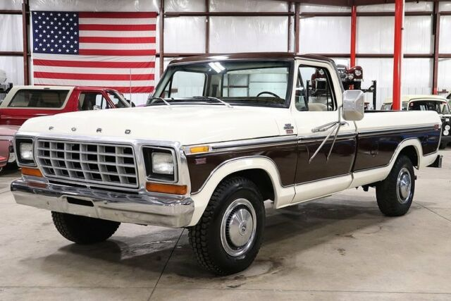 1979 Ford F-250 Lariat Camper Special