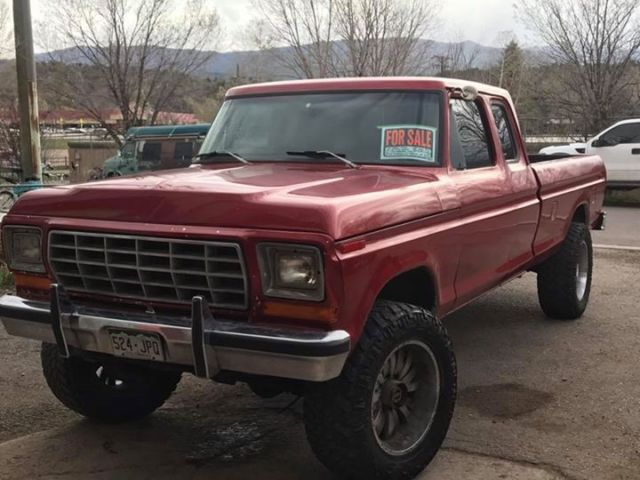 1979 Ford F250 Supercab 4x4 No Reserve For Sale Photos Technical