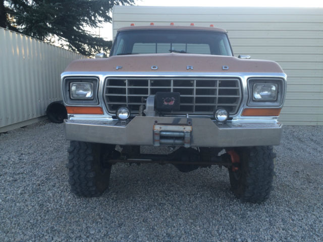 For Sale 1979 Ford F 350 Lariat 4x4 Autos Post