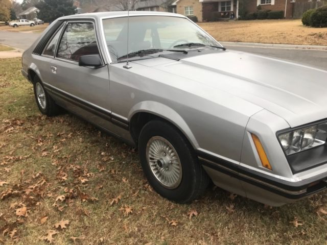 1979 Silver Ford Mustang Coupe