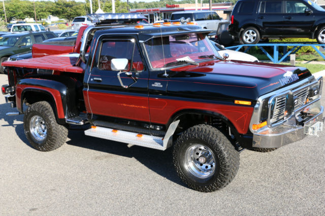 1979 ford ranger f150 4x4 for sale big block over the top custom truck for sale photos. Black Bedroom Furniture Sets. Home Design Ideas