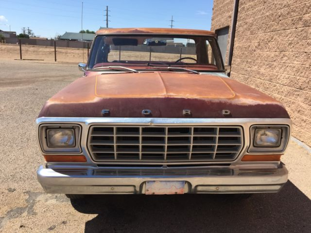1979 ford truck f100 for sale photos technical specifications description. Black Bedroom Furniture Sets. Home Design Ideas