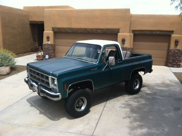 1979 GMC Jimmy 4x4 for sale: photos, technical specifications