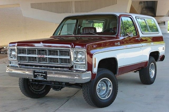 1979 Gmc Jimmy High Sierra Fully Documented For Sale
