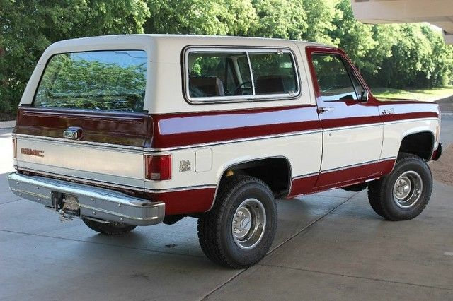 1979 gmc jimmy high sierra fully documented for sale. Black Bedroom Furniture Sets. Home Design Ideas