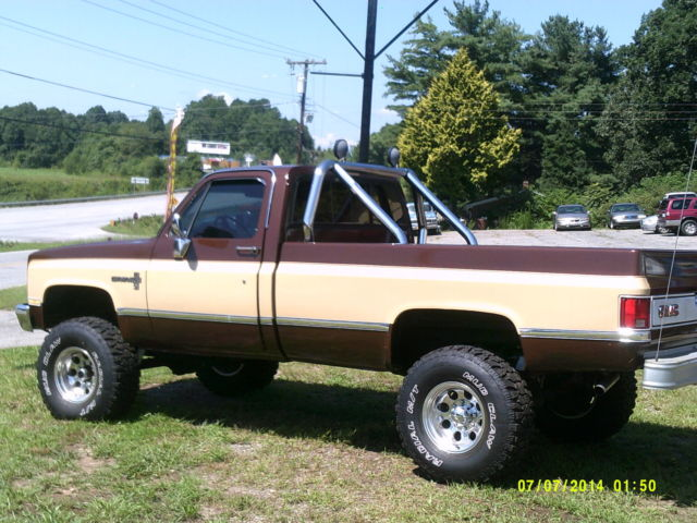 1979 gmc k20 fall guy replica 4x4 built 454 4 speed for for West chevrolet airport motor mile