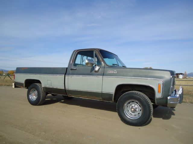 1979 gmc sierra 15 4x4 dry western high desert survivor. Black Bedroom Furniture Sets. Home Design Ideas