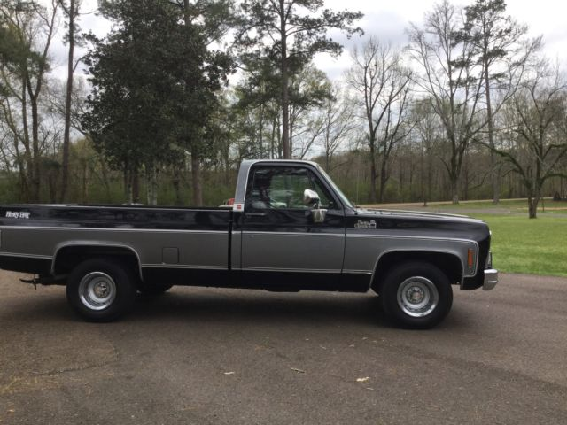 1979 gmc sierra 15 heavy half 2 owner 86k miles pristine. Black Bedroom Furniture Sets. Home Design Ideas