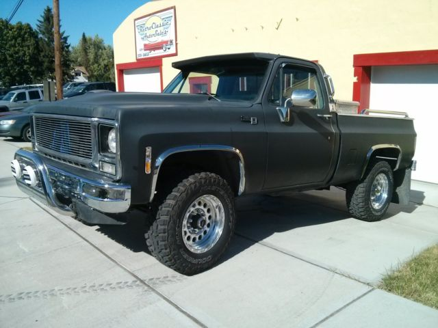 1979 gmc sierra 4 x 4 3 4 ton 2 1 2 lift for sale. Black Bedroom Furniture Sets. Home Design Ideas