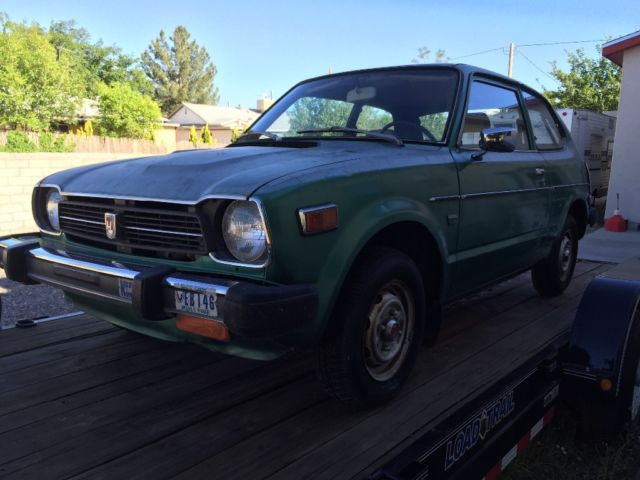 1979 honda civic 1200 hatchback low mileage virtually rust. Black Bedroom Furniture Sets. Home Design Ideas