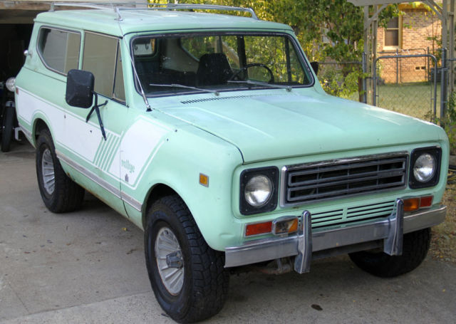 1979 International Harvester Scout RALLYE