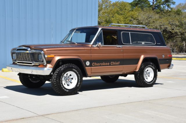 1979 Jeep Cherokee cherokee chief