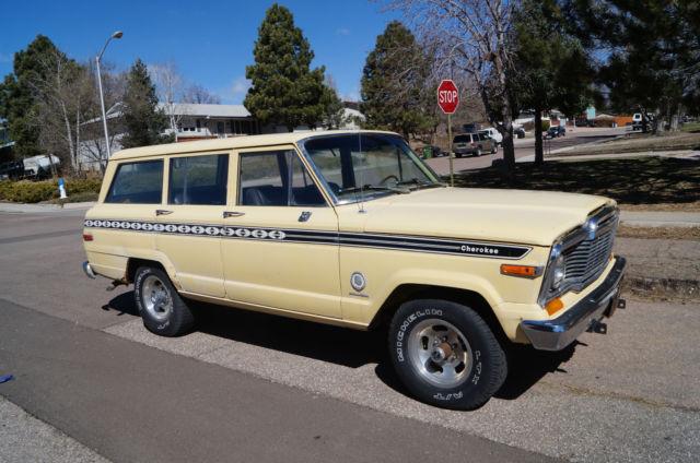 Used Jeep Cj Parts 1979 Jeep Cherokee Chief Wagoneer FSJ 360 4 speed Grand AMC for sale ...