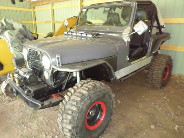 1979 JEEP CJ-7,CUSTOM BUILT,OFFROAD TRAIL RIG,,STREET LEGAL,,30K INVESTED!!!