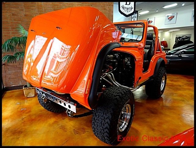 1979 Jeep CJ Custom Fiber Glass Body