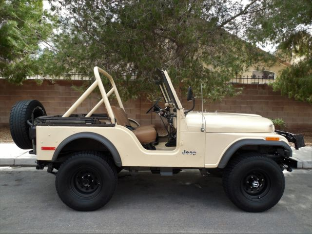 1979 Jeep CJ Convertible Jeep with Full soft top and doors