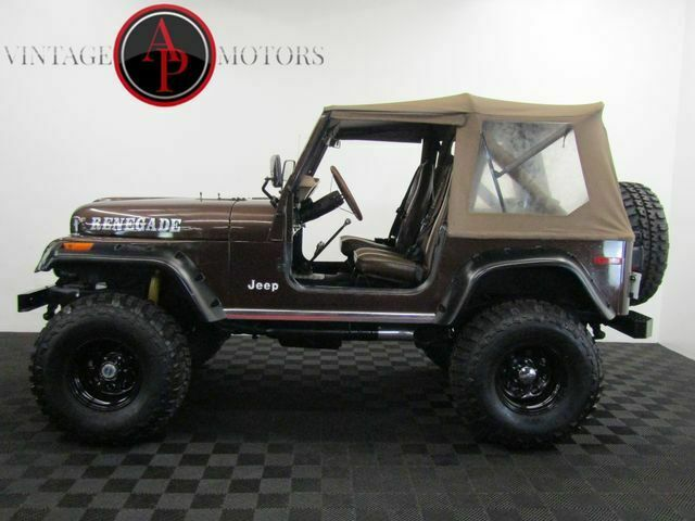 1979 Jeep CJ FUEL INJECTED V8!