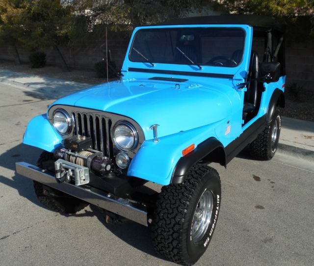1979 Jeep CJ RENEGADE / LAREDO PACKAGE