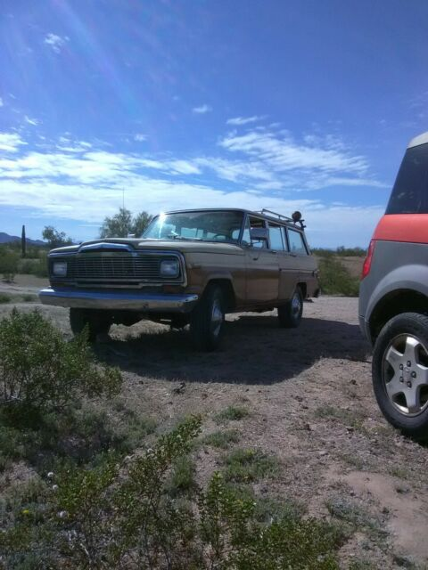 1979 Jeep Wagoneer_Sturdy_Low Mileage_Proceeds Help Extreme Poverty Situations