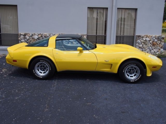 1979 Chevrolet Corvette Matching Numbers L82, 33,037 Miles, Glass Tops