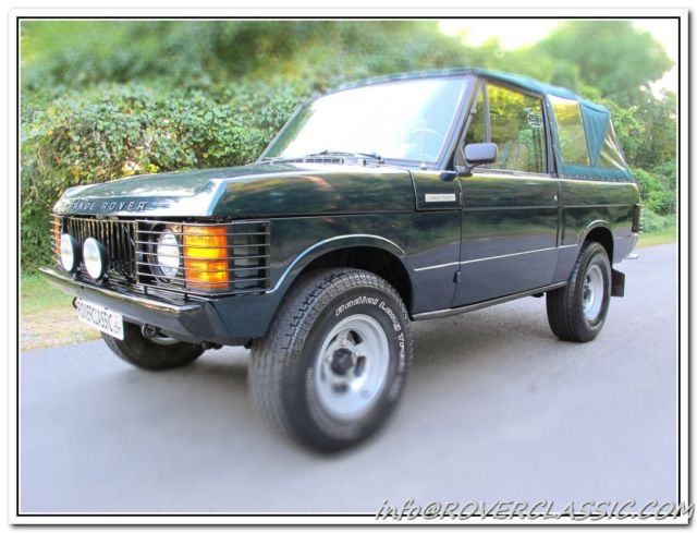 1979 Land Rover Range Rover SPECIAL VEHICLE CONVERSIONS LTD